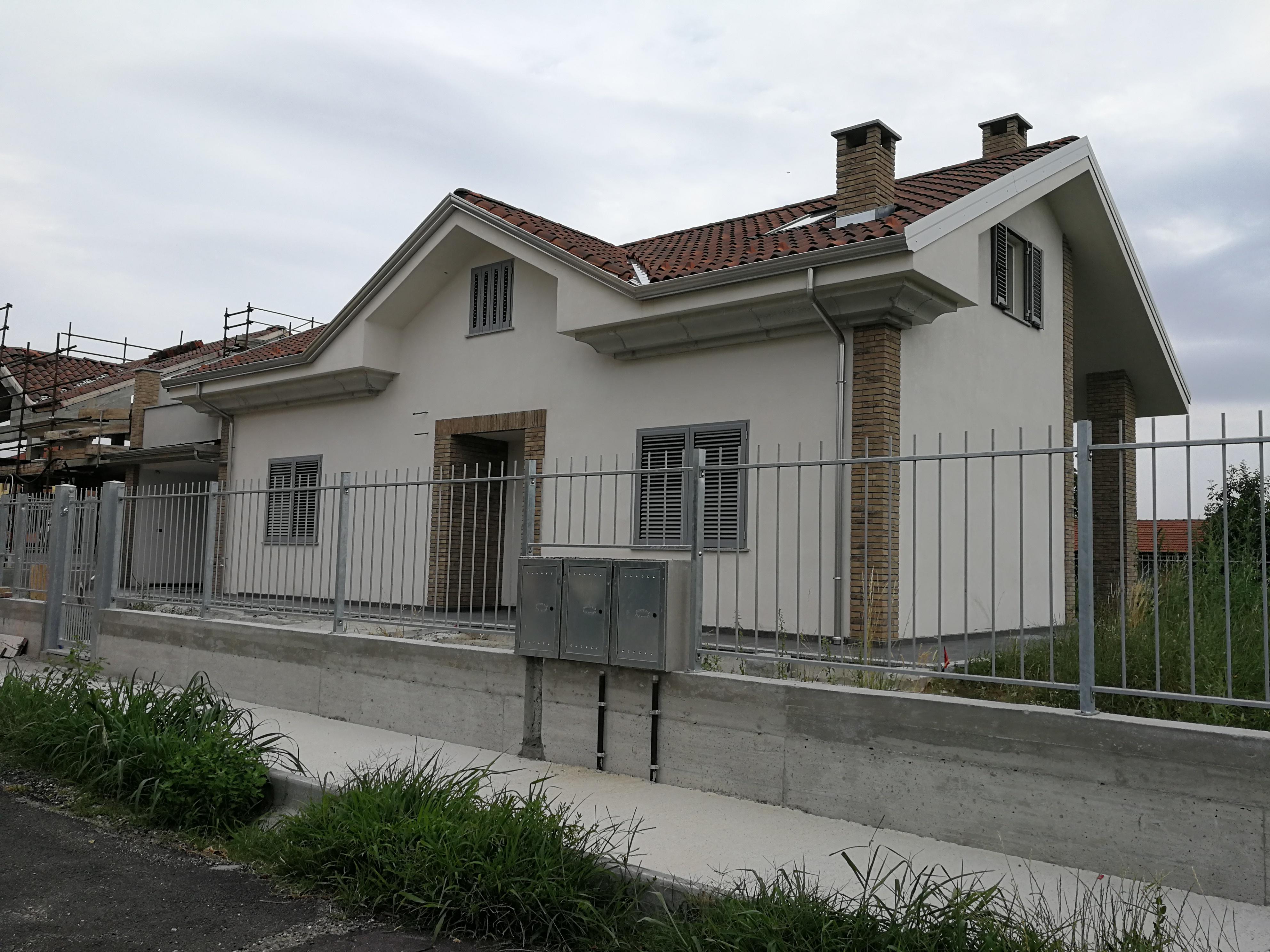 Villanova Canavese. Villetta di nuova realizzazione. € 255.000